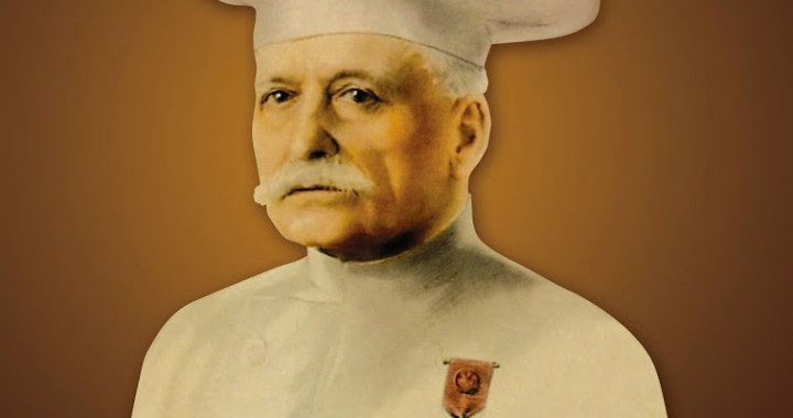 The pantheon of french chefs escoffier school of culinary for Auguste escoffier ma cuisine