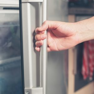 Open up your fridge and see what items you don't need or that have passed their expiration date. Throw them out so you'll have more room for items that are edible.
