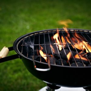 Cleaning your grill with natural cleaning products allows you to avoid using harmful chemicals.