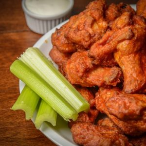 Wings are big business in bars across Boulder, CO.