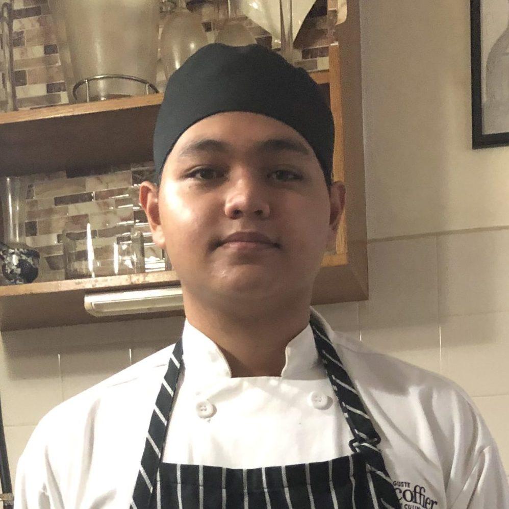 Damian Palacios, Escoffier Online Culinary Arts Student