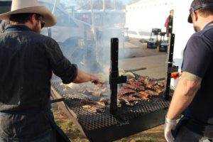 The Chef's Pot Luck is a SXSW charity event held at Willie Nelson's ranch.