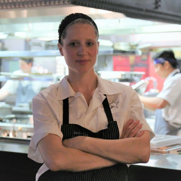 Jennifer Etzkin, Corner Restaurant, JW Marriott Austin Executive Chef