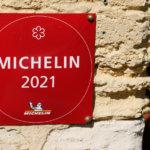 Michelin star 2021 restaurant logo sign