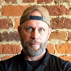 "Lance McWhorter, Food Network ""Chopped"" contestant, Executive Chef & Owner of Culture ETX, and Escoffier Online Culinary Arts graduate"