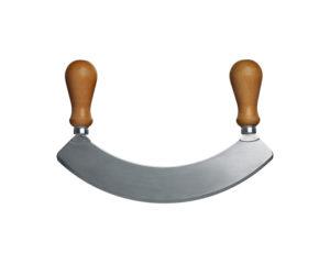 Mezzaluna mincing knife
