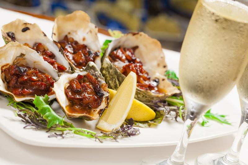 Chefs tailor the preparation of oysters to their regional characteristics.