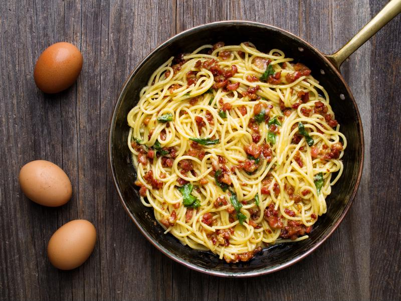 With some creative ingredients, spaghetti can show off your culinary skills.