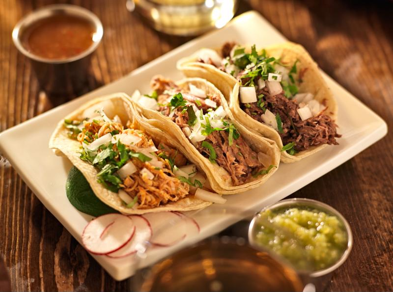 Experiment with different toppings for your tacos.